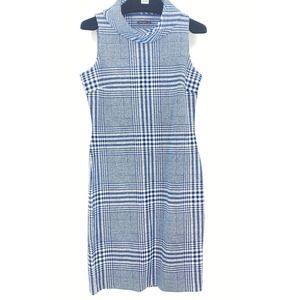 J. McLaughlin Houndstooth Dress Sleeveless Size XS